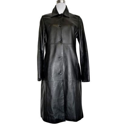 Stefanel cappotto di pelle