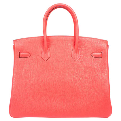 Hermès Hermès Birkin 35 Rouge Pivoine