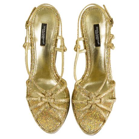 Dolce Goldfarbene Dolce Wedges Gabbana Gold amp; amp; Gabbana aFqqE