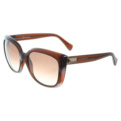 Emilio Pucci Sunglasses in Brown