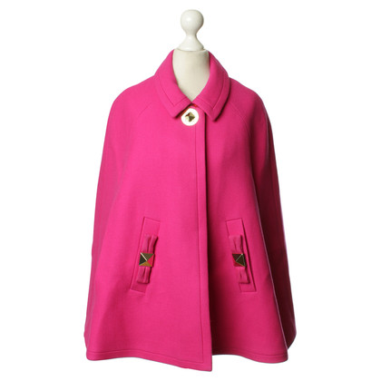 Kate Spade Woll-Cape in Rosa