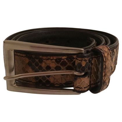 Prada Python leather belt