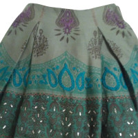 Maliparmi skirt with embroidery