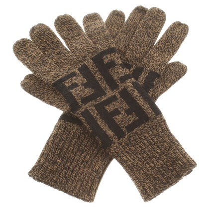 Fendi New wool gloves