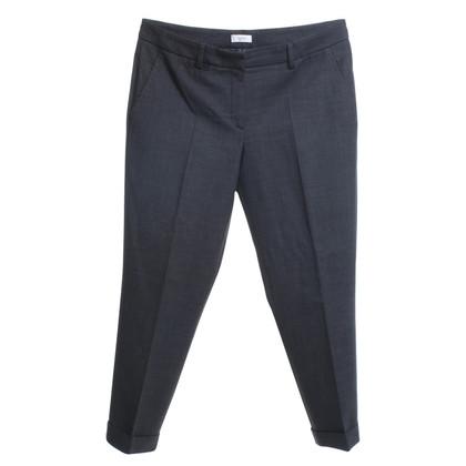 Gunex Pantalon en laine en gris foncé