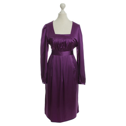 Style Butler Silk dress in purple
