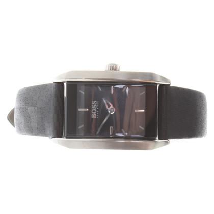 Hugo Boss Armbanduhr in Schwarz