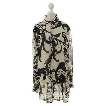 Ralph Lauren Zijden blouse met patronen