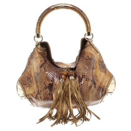 Gucci pelle di rettile borsa