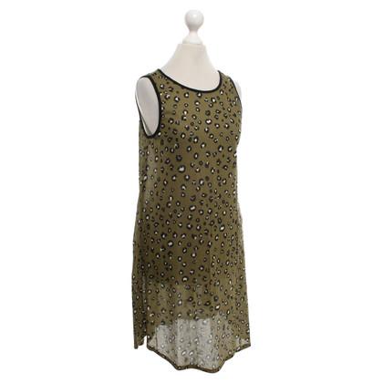 Majestic Shirt dress with pattern