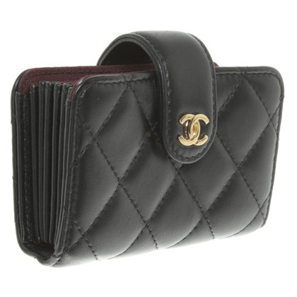 Chanel  Card Case in Black