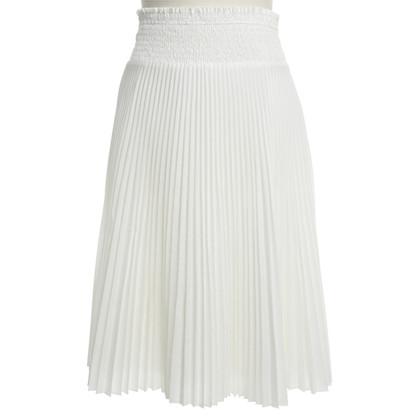 Prada Pleated-skirt in White