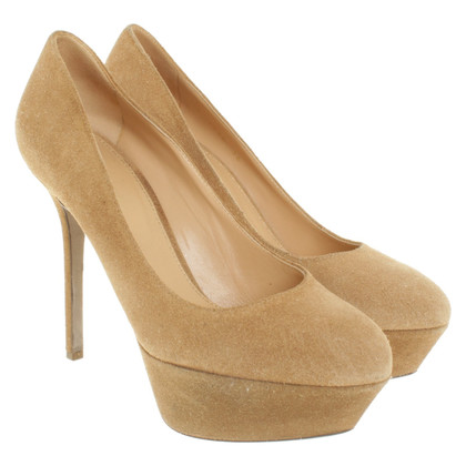 Sergio Rossi pumps in light brown