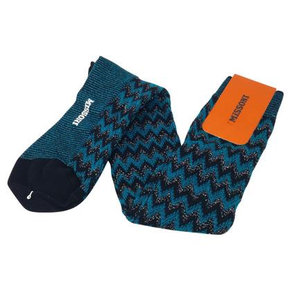 Missoni Sokken met merk-typisch patroon
