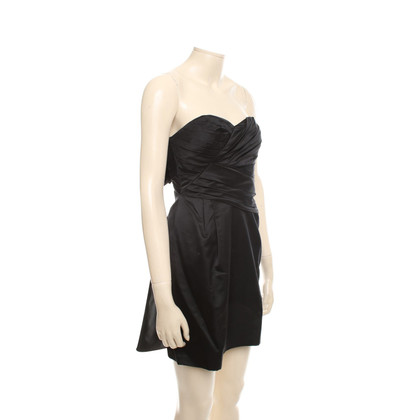 Vera Wang Black satin dress
