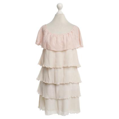 Alice + Olivia Silk dress in nudet tones