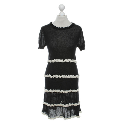 Twin-Set Simona Barbieri Wool dress in bicolor