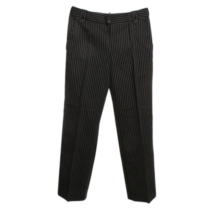 Strenesse Blue Pants with stripe pattern