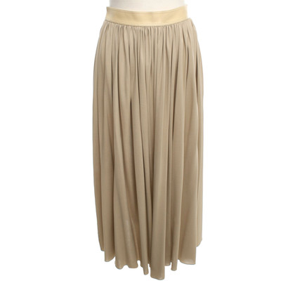 Céline Midi skirt with wrap belt