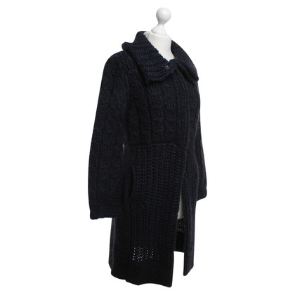 Dorothee Schumacher Knitted coat in blue