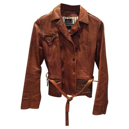 Golden Goose giacca di pelle