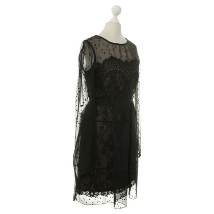Marchesa Notte, black dress. Never worn. Size 4