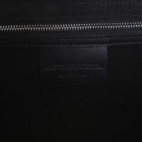 Costume National Handtasche in Weiß/Schwarz