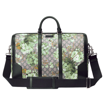 "Gucci ""Boston Bag"" ghisa di tela suprema"