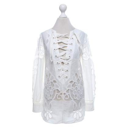 Gucci Blouse met kant