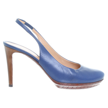 Bottega Veneta Sling backs in blue