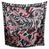 Roberto Cavalli Silk scarf with pattern