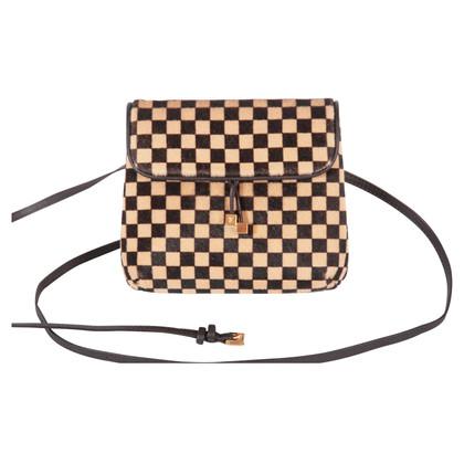 Louis Vuitton Shoulder bag with fur trim