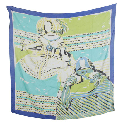 Loewe Silk scarf in multicolor