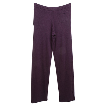 Malo Cashmere sweatpants in purple