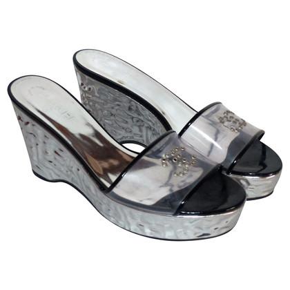 Chanel Sandalen met transparante plastic