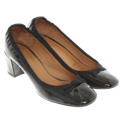 Isabel Marant Lacklederpumps in Schwarz