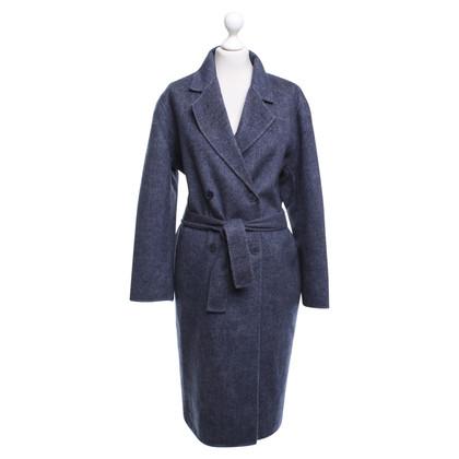 Sandro Coat in blue