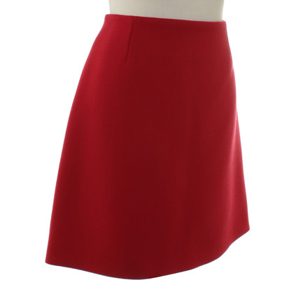 Balenciaga skirt in red