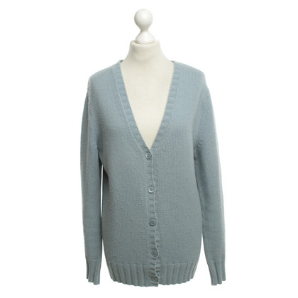 Allude Cardigan in Light Blue