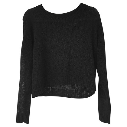 All Saints Schwarzer Strickpullover
