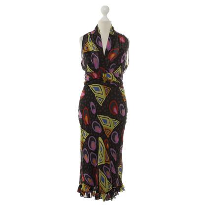 Etro Kleurrijk bedrukte jurk