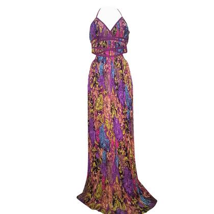Ermanno Scervino Pleated silk dress