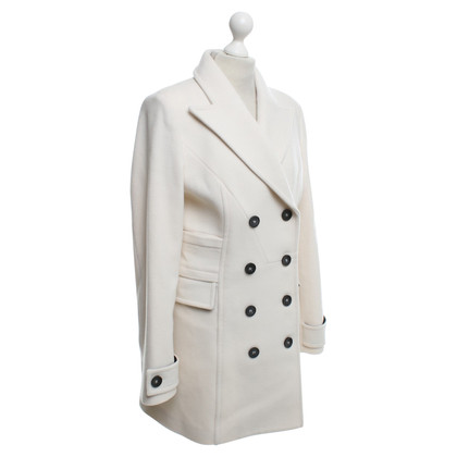 Atos Lombardini Wool coat in cream