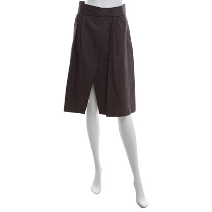 MSGM Trouser skirt in brown