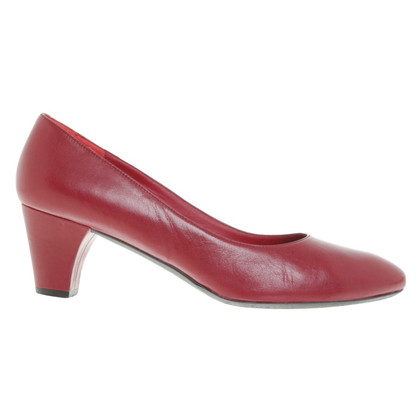 Navyboot Pumps in Rot