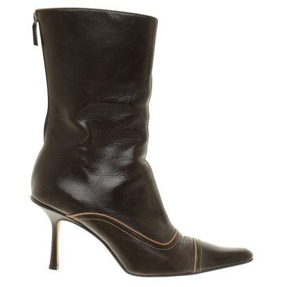 Jimmy Choo Stiefel in Dunkelbraun