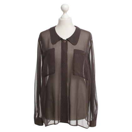 Armani Silk blouse with pattern