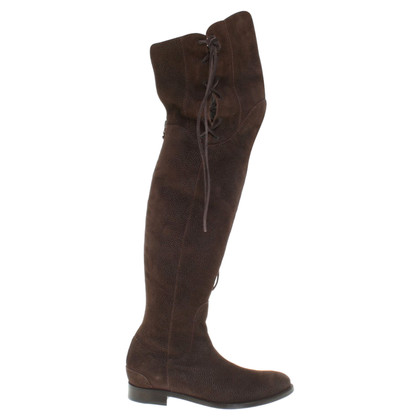 Ermanno Scervino Overknees in brown