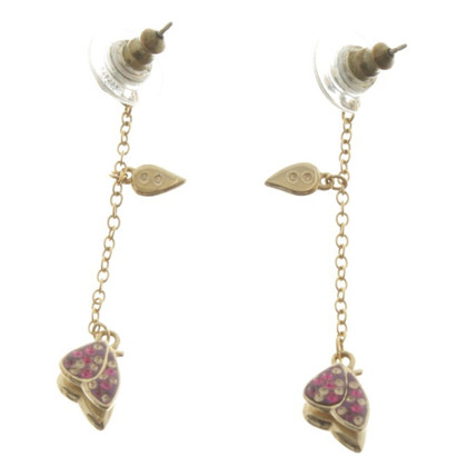 Swarovski Earrings with butterfly motif