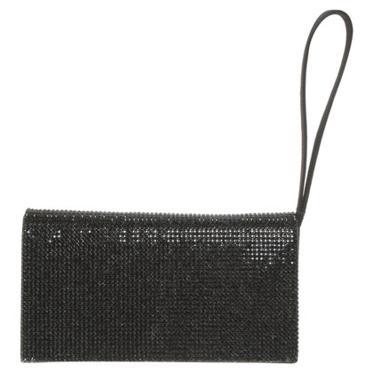 Escada Clutch in Schwarz
